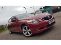 Lexus Gs300 Se Auto,Red,97k Low Miles,Service history,HPI Clearull Beige Leathers,Fully Loaded £2695