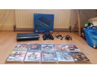 PS3 Slim 500GB, 2 controllers and Games