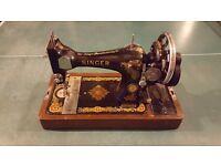 Singer sewing machine mechanical VGC