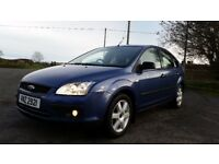 *|*BARGAIN*|* 2006 FORD FOCUS 1.6 SPORT **METALLIC BLUE **FULL YEARS MOT**TIMING BELT @ 95K**