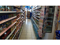 A1 News Agent/Grocery Shop on a busy main road with a very good footfall, plus 4 huge rooms included