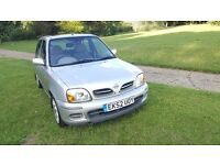 NISSAN MICRA 5DR AUTOMATIC, 1 YEAR MOT, LOW MILEAGE, GOOD DRIVE,A/C, LAST OWNER FROM 2004