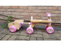 Wooden Trike with Trailer - Early Learning Centre