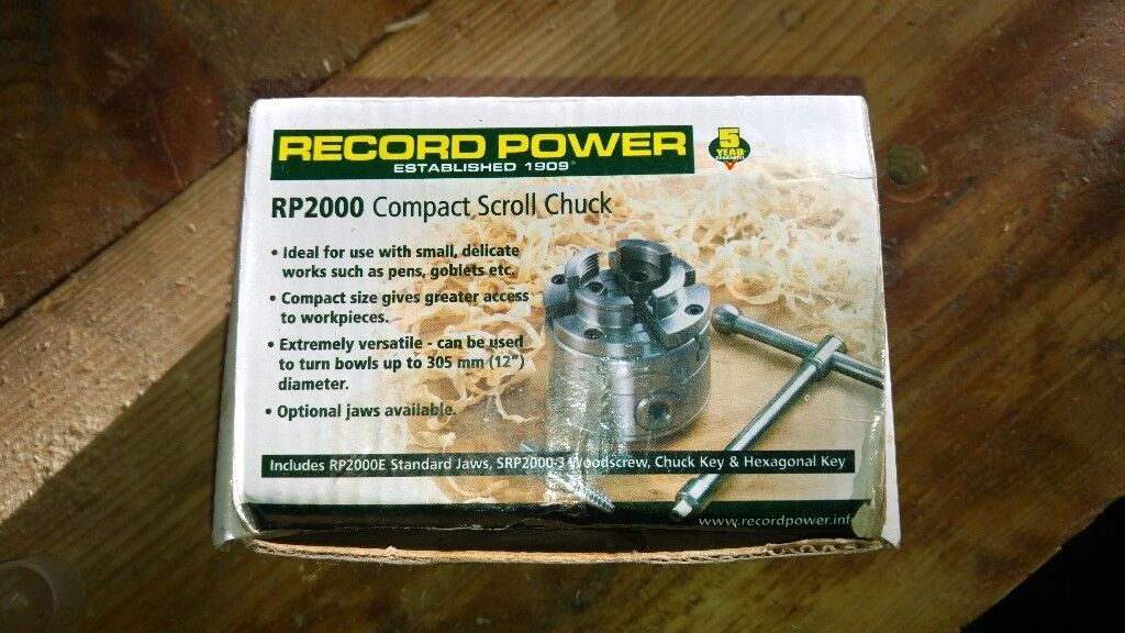 Record power rp2000 chuck