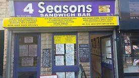 SANDWICH BAR FOR SALE