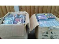 Star Trek Voyager videos 2 boxes full approx 70+