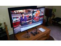 """55"""" Sony 4K Wifi Smart 3D TV - RRP £2100"""
