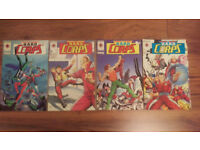 H.A.R.D. Corps Comics. Issue Numbers 1,2,3 and 4