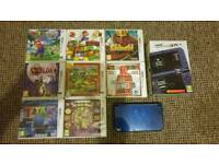 """New"" Nintendo 3DS XL boxed with games"