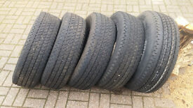 !!!FOR SALE!!! 5x p236/75R15, ROADION, 4x4 TYRES,.... £100