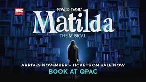 Matilda the Musical QPAC Wed 7th December North Lakes Pine Rivers Area Preview