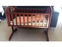 Occassionally Used Nice baby Crib or Swing for sale along with it's mattress