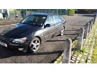 Lexus is 200 with private reg (automatic )