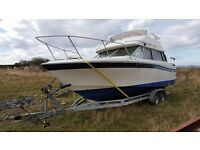 Bayliner 2450 flybridge 24 foot cruiser