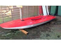 Topper sailing dinghy hull