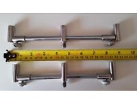 x1 Pair of 3 Rod Adjustable Stainless Buzz Bars