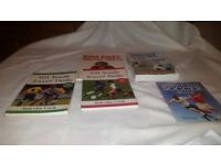 Variety of soocer skills books ideal for colts coach