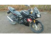 Lexmoto XTRS 125 only 3 months old
