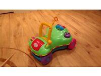 Playskool Step Start Walk 'n Ride. Great walker but also ride on car