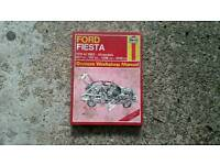 Ford fiesta Haynes manual
