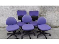 Office Chairs - gas lift, fully adjustable