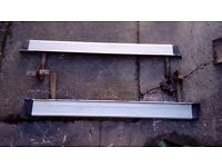 DAIHATSU FOURTRAK LWB ALLOY SIDE STEPS