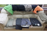 assorted bundle of men's clothing