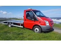 2012 ford transit recovery truck