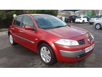 RENAULT MEGANE 1.6 AUTOMATIC IN TOP CONDITION. LONG MOT. FULL SERVICE HISTORY. HPI CLEAR