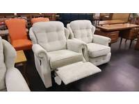 G-Plan recliner armchair in immaculate condition beige oatmeal colour