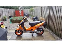 KYMCO super 9 ,50 cc moped.