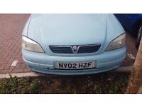 Vauxhall astra van 1.7dti envoy (crew cab)