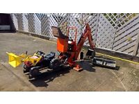 Lewis Landlord 110 Backhoe for mini tractor