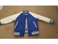Boys faux leather jacket 1.5 - 2 years excellent condition £7