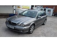 jaguar x type 2006 long mot was cat d