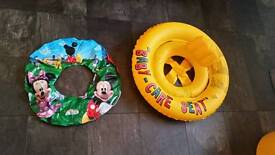 Swimming seat for toddlers