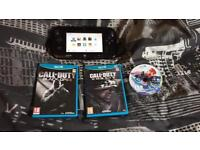 Wii u and 3 games