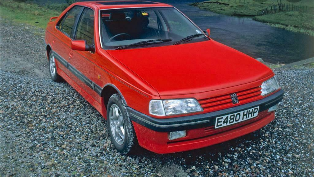 **WANTED** Peugeot 405 big bumpers
