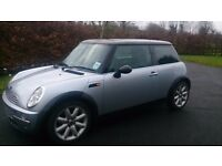 2002 Mini Cooper - 1600cc automatic, CD player, leather seats / trim, MOT Aug 17 | priced to sell