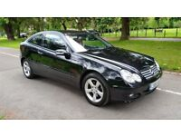 Superb Value 2006 56 Mercedes 220cdi Sports Coupe DIESEL Automatic 106000 Mls HPI Clear Sept 18 MOT