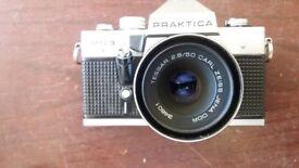 prakptica tiova with carl zeiss jena lens tessar 2.8/50