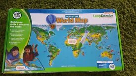 Leap Frog World Map NEW