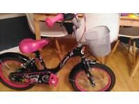 Girls bike 16 inch Cherrie bike
