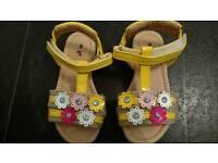 Baby girls summer sandal.