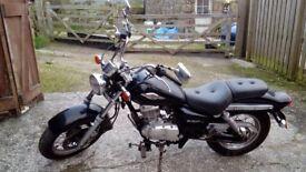 Motorbike Suzuki Marauder GZ125 Very low miles