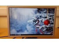 "LCD MONITOR 19"" ADVENT MODEL MW19E-AAA with free power cable"