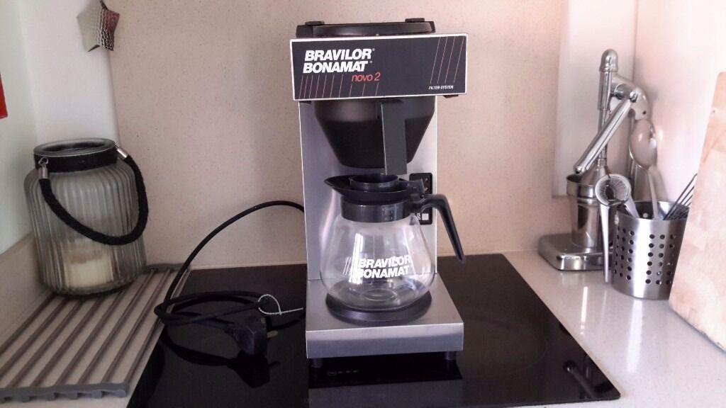 free bravilor bonamat novo 2 coffee machine in. Black Bedroom Furniture Sets. Home Design Ideas