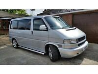 VW T4 Caravelle, 2002, 2.5tdi 102bhp,camper,Longnose FSH,low mileage A1 condition the one you want!!