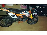 MINI MOTO 50CC MADE IN UK FAST BIKE ITS NOTHING LIKE THESE CHEAP MINI MOTO ALL WORKING £200 O N O