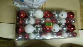 Brand new christmas baubles